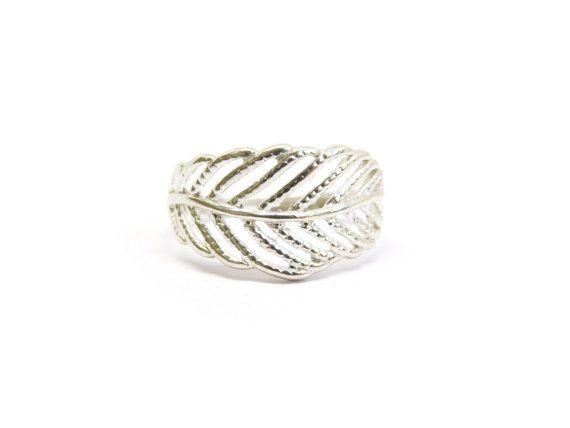 925 zilveren blad Ring, Sterling Zilver, grote blad Ring, Sterling zilveren Ring, Leaf Jewelry, Groothandel ringen, Ring jonger dan 10  Mooie