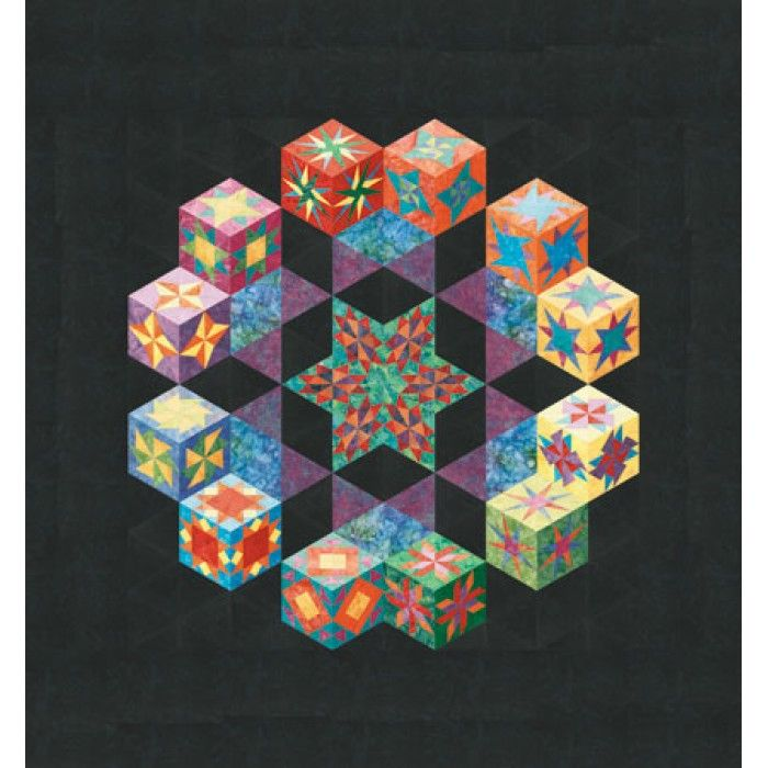 182 best images about Tumbling blocks quilts on Pinterest Tumbling blocks, Baby blocks and Quilt