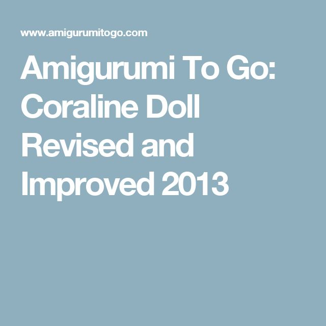 Mas de 1000 ideas sobre Coraline Doll en Pinterest ...