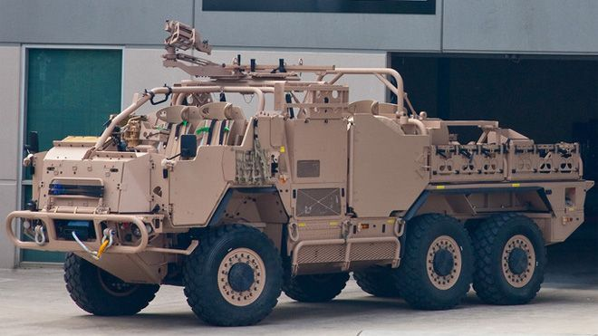 Australian military testing new Special Forces fighting machine ...