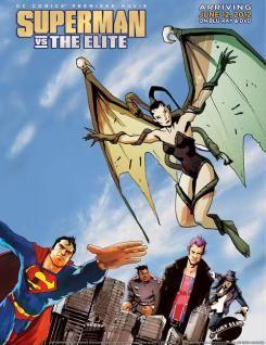 [Animación] Nuevo póster de Superman vs The Elite