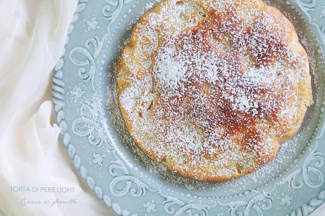 torta di pere light col bimby