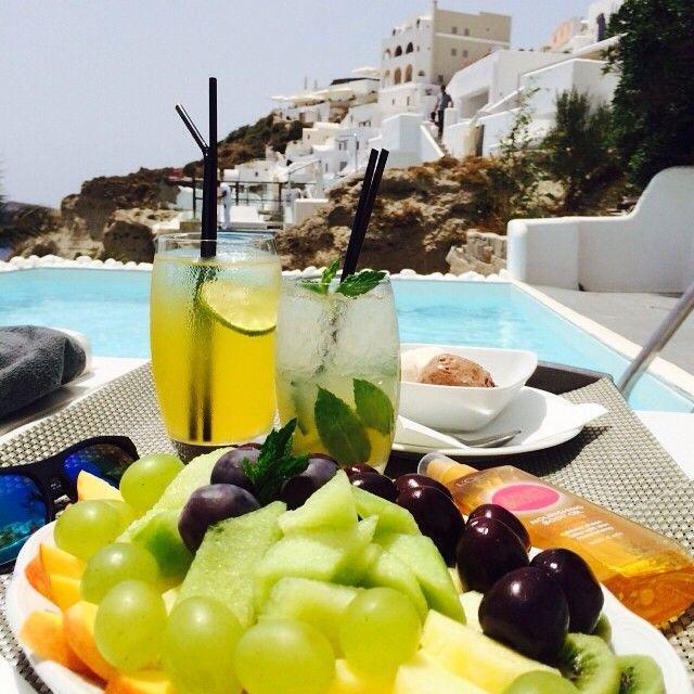 Villa Katikies, Santorini | Fresh delight