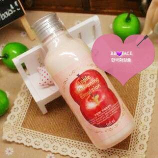 skin food苹果净白保湿乳美白、淡、去暗黄