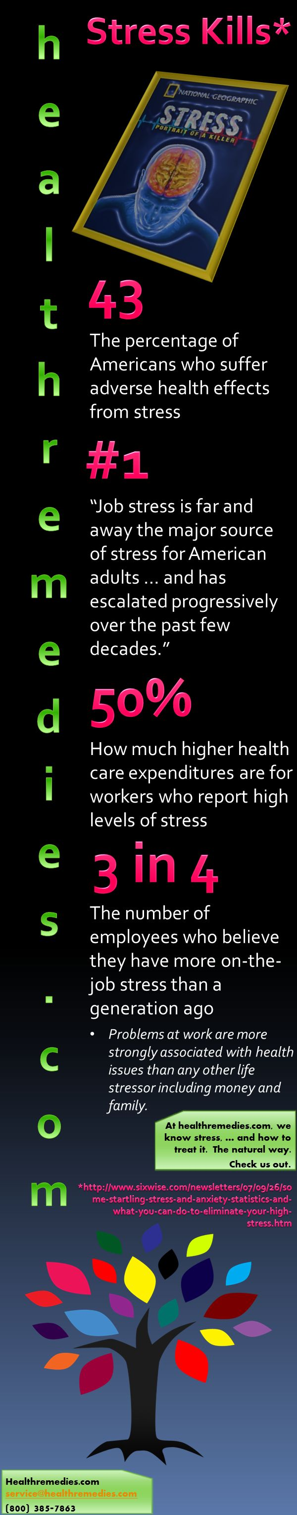 major sources of stress Work-related stress causes an increase in sick days and other sources of work-related stress include conflict with co returning to work after major trauma.