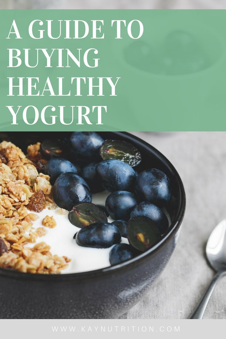 Guide to Buying Healthy Yogurt 2