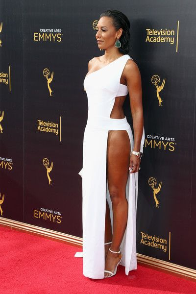 Melanie Brown Photos Photos - TV personality Mel B attends the 2016 Creative Arts Emmy Awards at Microsoft Theater on September 10, 2016 in Los Angeles, California. - 2016 Creative Arts Emmy Awards - Day 1 - Arrivals