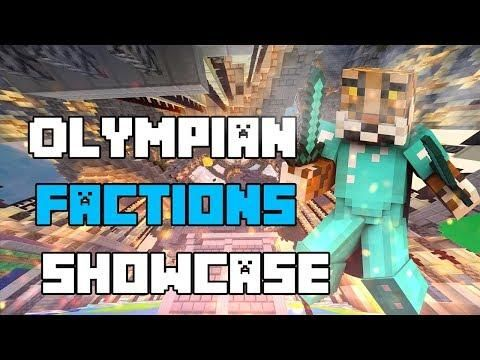Minecraft Bedrock Olympian Factions Server Download [MCPE/Xbox