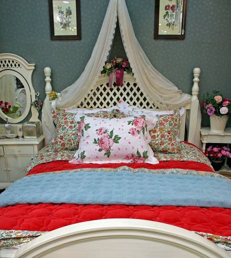 Romantic Victorian Shabby Chic Bedroom Bedroom Decorating Ideas   Great Sea  Themed Furniture For Girls And Boys Bedrooms By Caroti