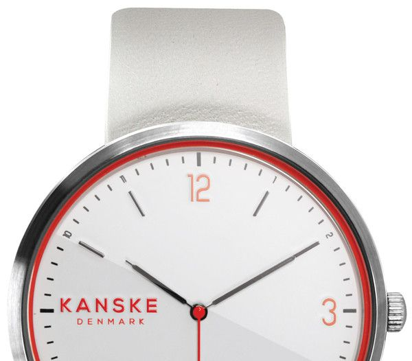 KANSKE WHITE ESSENCE - Pre-order now at http://kanskedenmark.com/products/kanske-watch-white-essens