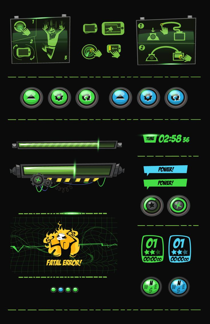 Panic Station - GUI Design on Behance