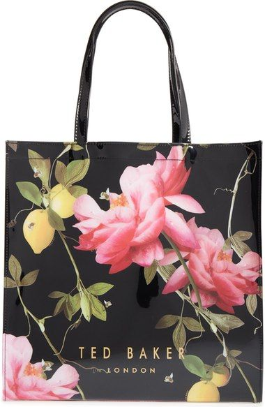 Ted Baker London Large Icon Citrus Bloom Tote available at #Nordstrom