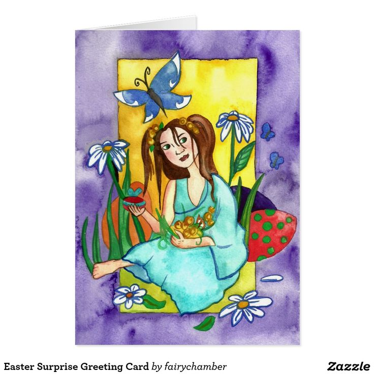 Easter Surprise Greeting Card