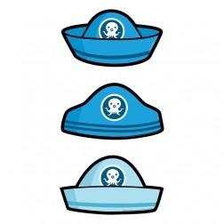 Octonauts Card Hats