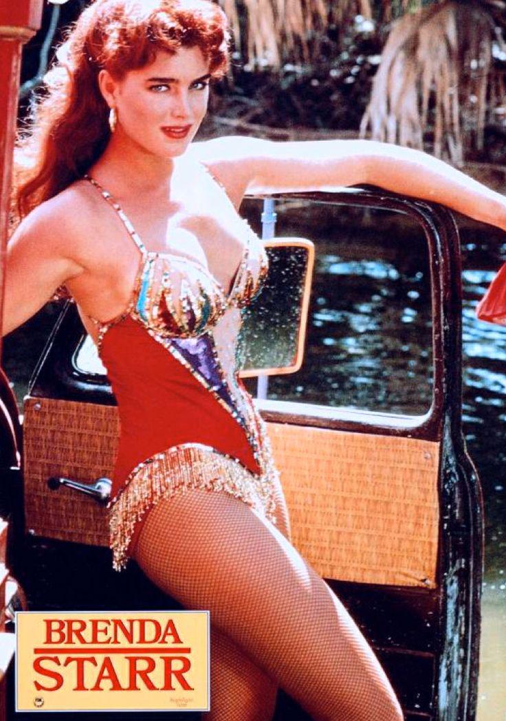 Brooke Shields In Brenda Starr 1989 Eighties Redux