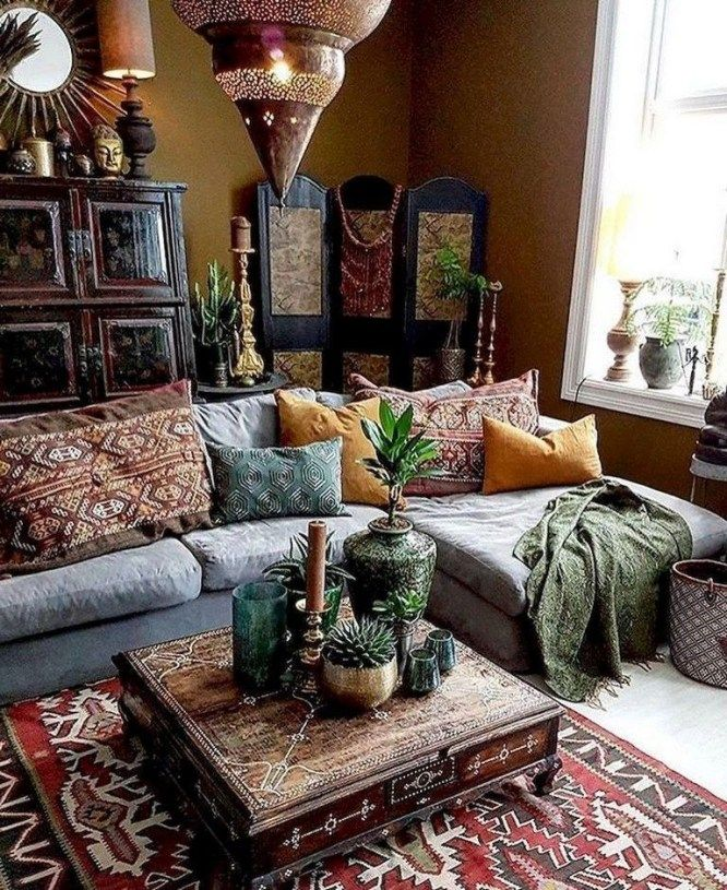 Impressive Bohemian Living Room Ideas For Inspiration 09 Eclectic Living Room Bohemian Living Room Decor Indian Living Rooms