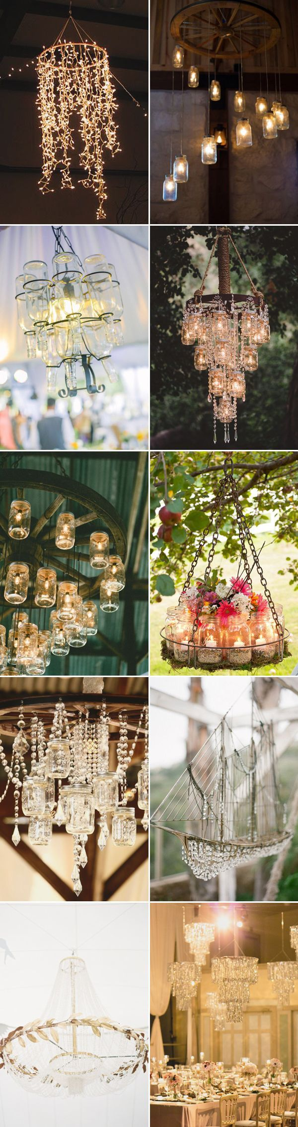 25 Romantic Wedding Chandelier Ideas / http://www.deerpearlflowers.com/romantic-wedding-chandelier-ideas/