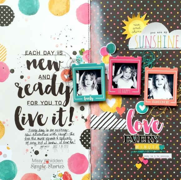 Layout by design team member Missy Whidden