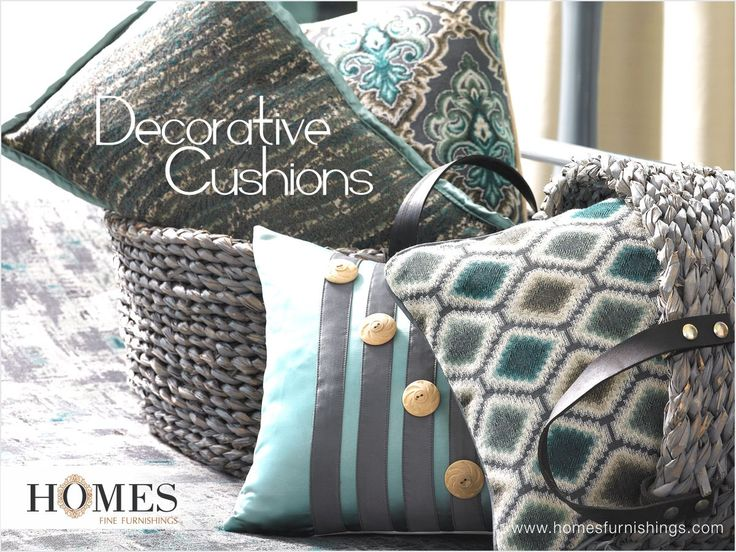 Decorate #Cushion as the #Decor says. Anytime Anywhere with #HomesFurnishings. Explore more on www.homesfurnishings.com #HomeFabrics #Cushions #Furnishings #FineFabric #MondayMotivation