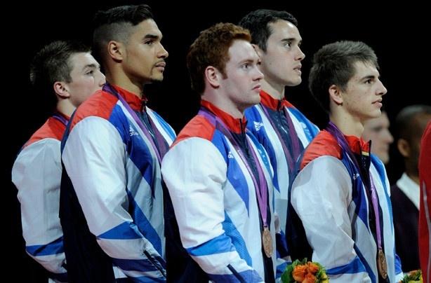 Team GB's gymnastics team win bronze!