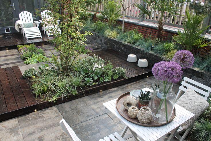 Plus de 1000 id es propos de tuin sur pinterest jardins terrasse et planters - Deco ontwerp idee ...