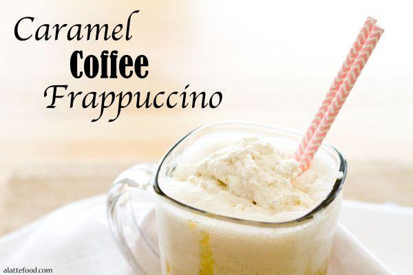 Caramel Coffee Frappuccino