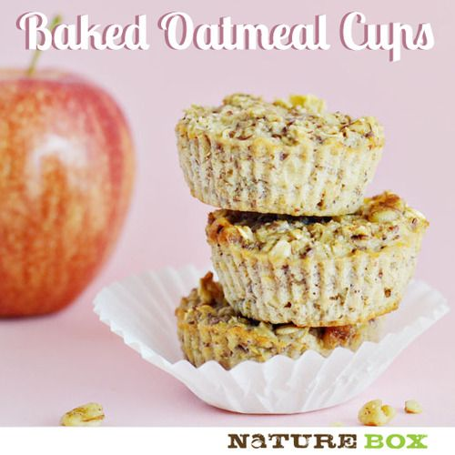 1/3 cup of unsweetened applesauce  1/4 tsp of vanilla  1/2 cup of milk of choice  1 egg white  1 cup of rolled oats  2 TBSP of ground flax-seed meal  1/2 tsp of baking powder  1/4 tsp of ground cinnamon  3 TBSP of brown sugar  1 small apple, cored, peeled and chopped  1/4 cup chopped nuts (optional)