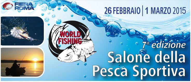 Quest'anno BIG Pesca di Monza sarà presente a Roma in occasione del World Fishing, la fiera della pesca, con i marchi da lei distribuiti Balzer e Behr