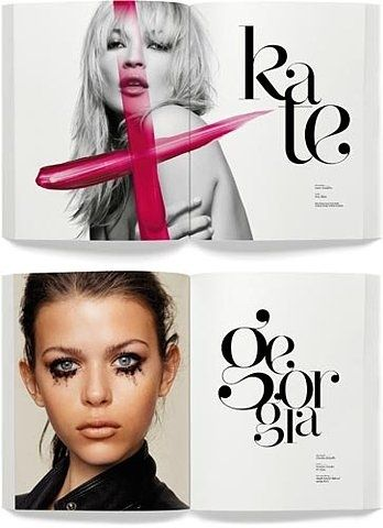 Editorial Design #typography #freefonts #text #southcoastsocial #fonts #script #art #design #calligraphy #creative #writing #katemoss #model