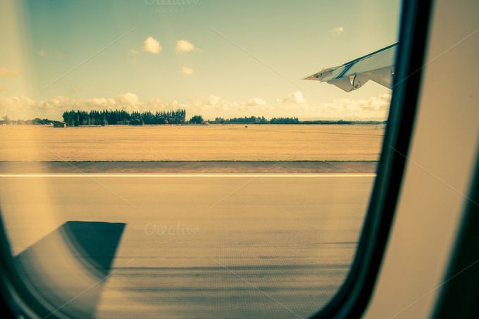 Window seat view from prop plane by MDVPresets on @creativemarket