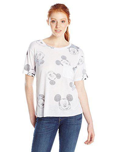 Disney Juniors Indigo M and M Pocket Tee White X-Large @ niftywarehouse.com #NiftyWarehouse #Disney #DisneyMovies #Animated #Film #DisneyFilms #DisneyCartoons #Kids #Cartoons