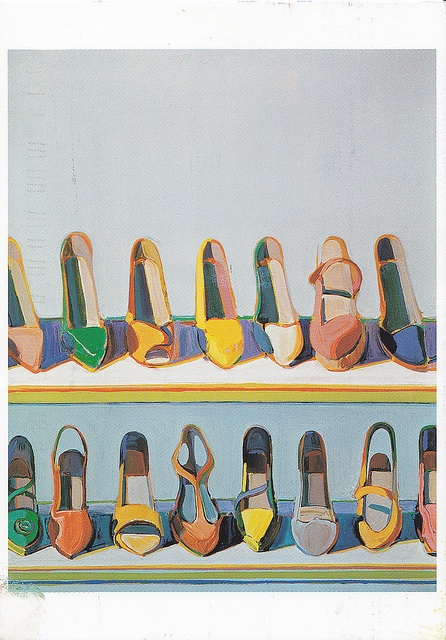 WAYNE THIEBAUD http://www.widewalls.ch/artist/wayne-thiebaud/ #contemporary #art #popart
