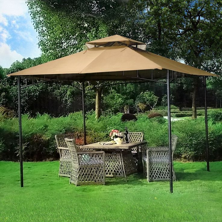 Lovely The Best Patio Gazebos! 10u0027 X 10u0027 Grove Patio Canopy ...