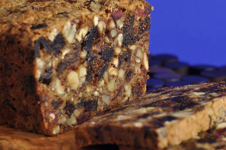 A delicious and healthy Dried Fruit and Nut Loaf is full of dried fruits and nuts. From Joyofbaking.com With Demo Video