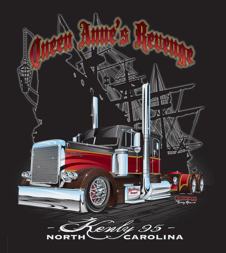 Iowa 80 Group/Kenly 95 Truckstop Queen Anne's Revenge