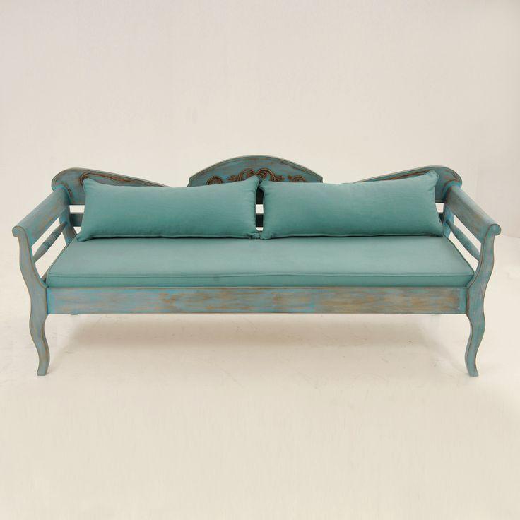 Νησιώτικος καναπές SO0031-2 by Loizos House