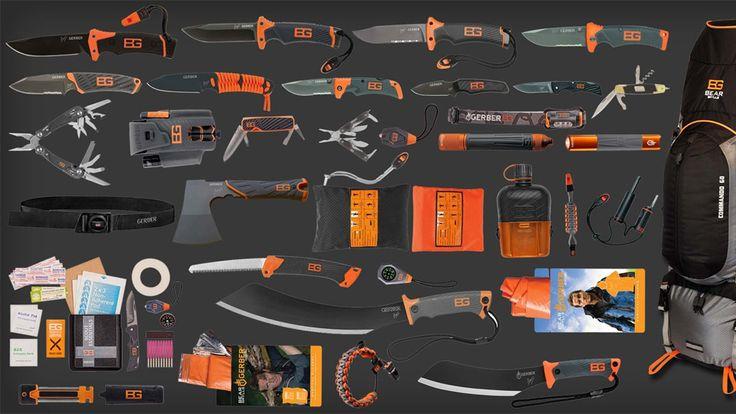 Bear Grylls Ultimate Pack   DudeIWantThat.com