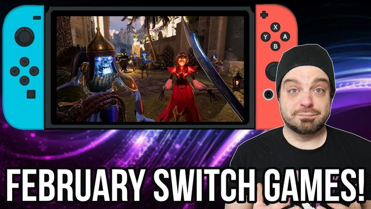 BEST Upcoming Nintendo Switch Games for February 2019! | RGT 85