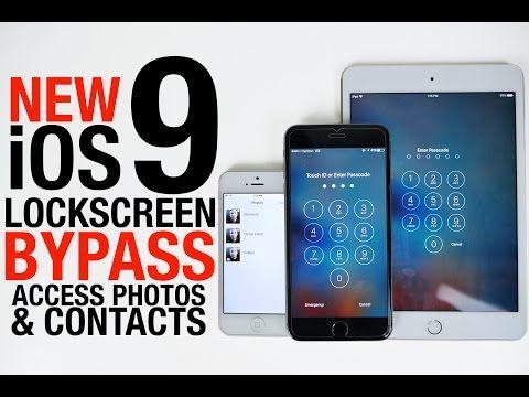 iOS 9に思わぬ脆弱性。パスコードを知らなくても、ロック画面から連絡先と写真をハッキングできます : ギズモード・ジャパン