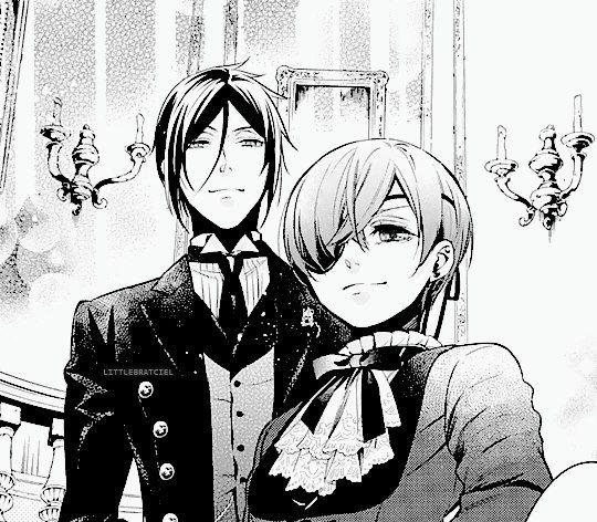 Black Butler Manga: Тёмный Дворецкий RP Англия
