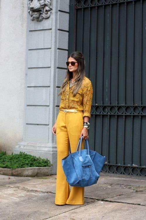 Pantaloni palazzo e culottes, super trend 2015