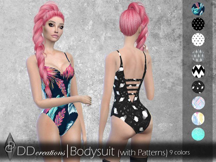 Bodysuit (pattern) in 9 colors Found in TSR Categ…