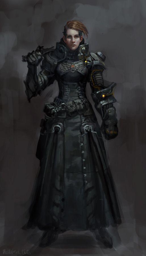 Ehvera, líder da lótus negra, grande aliada e desaparecida.