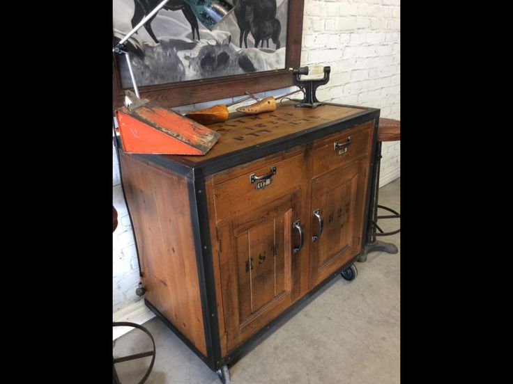 Reclaimed cabinet  industrialised