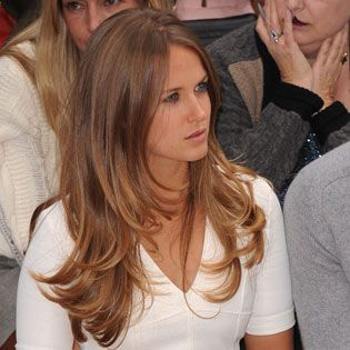 for summer: light brown with gold and caramel highlights?