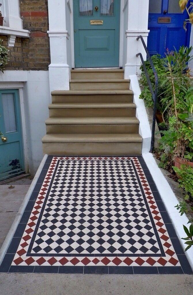 """Mosaic tile """"quilt""""."""