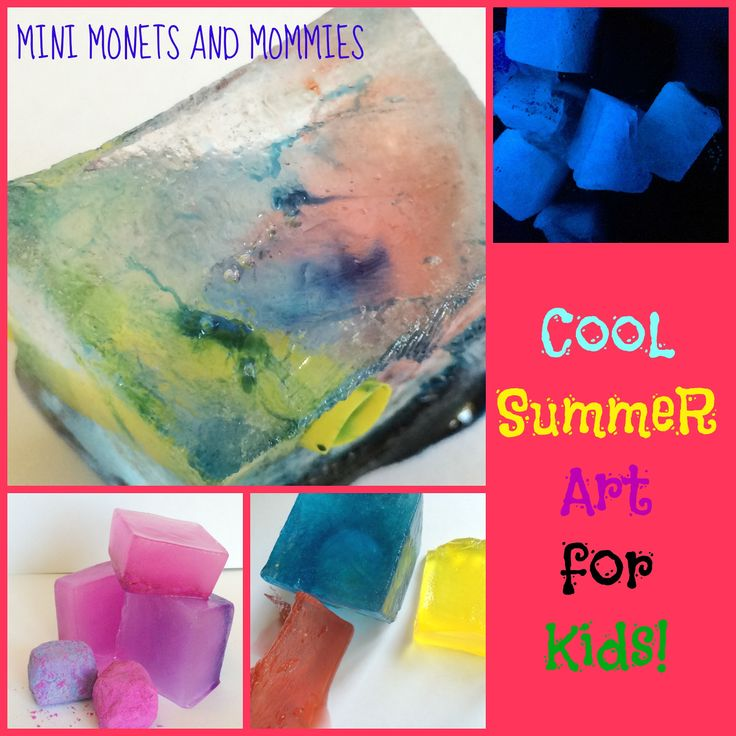 Kids' summer arts and crafts activities!