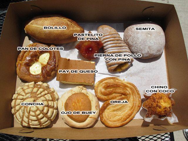 Pan dulce examples  de347e7d1ba2b