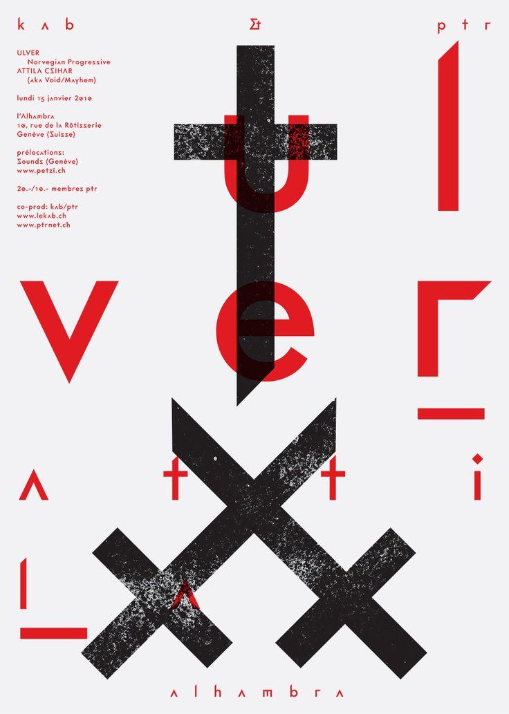 Le Kab, poster designed by Alex W. Dujet (2010)