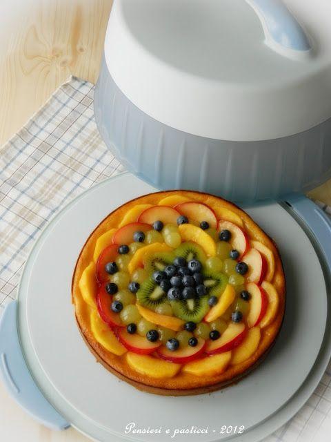 Cheesecake alla vaniglia con frutta fresca